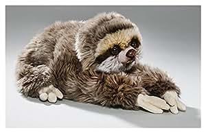 Peluche - Perezoso acostado (felpa, 30cm)