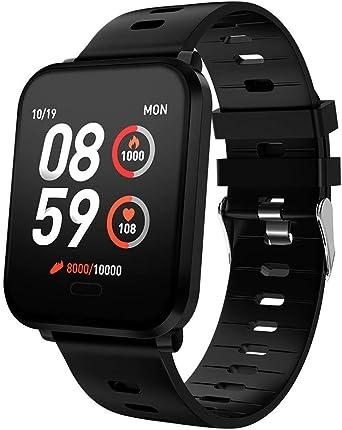 Reloj Inteligente Hombre, Smartwatch con Pulsera Actividad Reloj ...