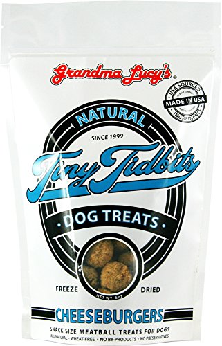 TinyTidbit Dog Treats - Cheeseburgers - 6oz