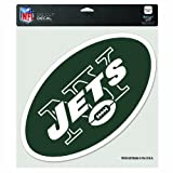 NFL New York Jets 8-by-8 Inch Diecut Colored Decal