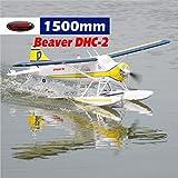 DYNAM RC Airplane DHC-2 Beaver 1500mm Wingspan - PNP