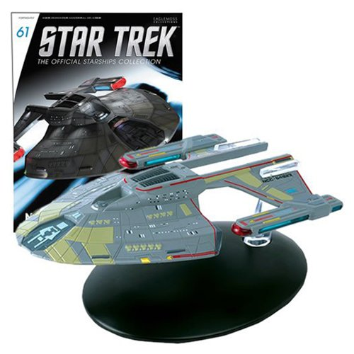 Star Trek Starships Norway Class Die-Cast Metal Vehicle with Collector Magazine #61 (Metal Ship Diecast)