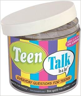 Amazon Com Teen Talk In A Jar 9781575428987 Free Spirit Publishing Cor Books