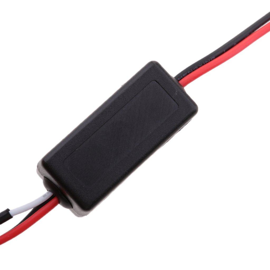 MagiDeal LED Arn/és de Rel/é Regulador de Intensidad de Luz Diurno Niebla DRL para Veh/ículos