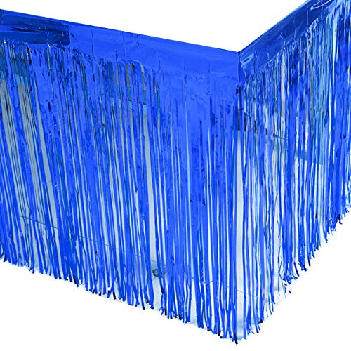 Blue Metallic Fringe - 5
