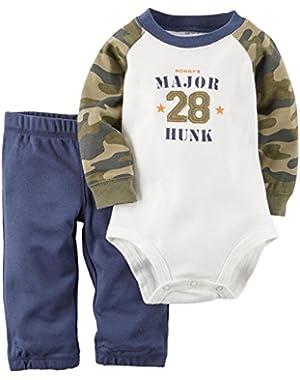 2 Piece Bodysuit Set (Baby)