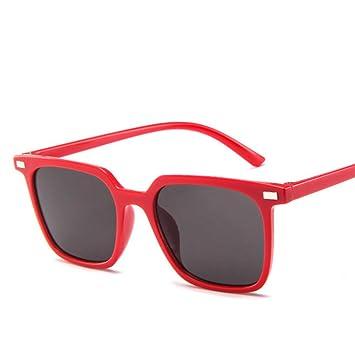 Wenkang Gafas de Sol cuadradas para Hombres Gafas de Sol ...