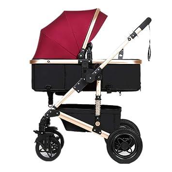 J.BB Cochecito de bebé, carros de bebé Plegables Ligero ...