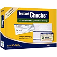 VersaCheck Instant Checks Form # 3000 Standard Business Check, Blue Prestige,250 Sheets/750 Checks