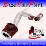 02 03 04 05 06 Nissan Altima 2.5 L4 Cold Air Intake Red (Included Air Filter) #Cai-ns003r