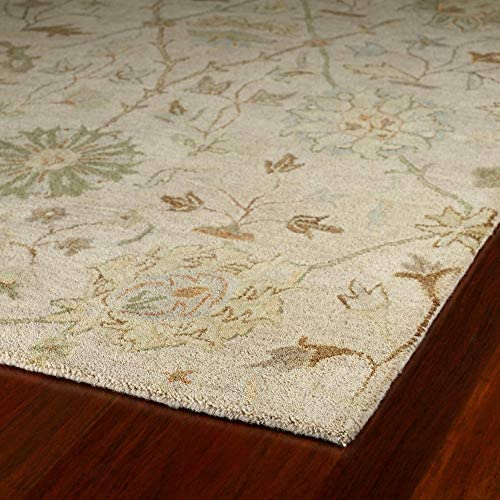 Kaleen Helena Collection Hand Tufted Area Rug, 8 x 10 , Ivory