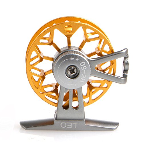 New 1Pc Ultra-light Former Ice Fishing Reels Wheel Fly Fishing Reel CNC Aluminum New (Pro Fly Yo Yo)