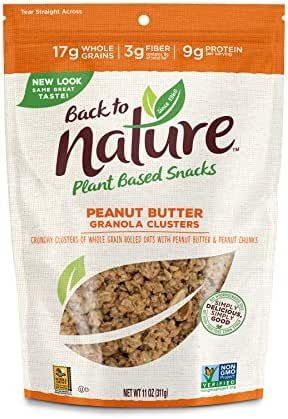 Granola & Muesli: Back to Nature Granola Clusters