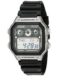 Casio Men's AE1300WH-8AV Sport Watch with Referee Timer