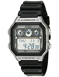 Casio Men's AE1300WH-8AV Sport Watch with Referee Timer
