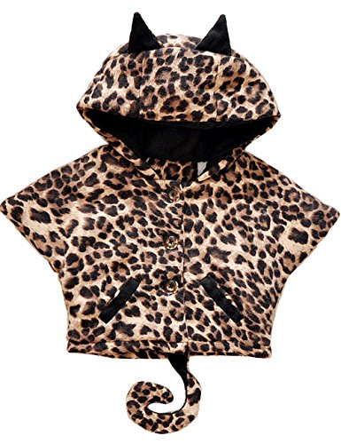 Tkria Baby Boys Girls Halloween Animal Hoodies Leopard Coat Bat Jacket Outerwear (Cute Halloween Costumes Tumblr)