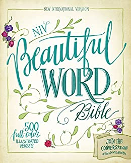niv beautiful word bible ebook 500 full color illustrated verses