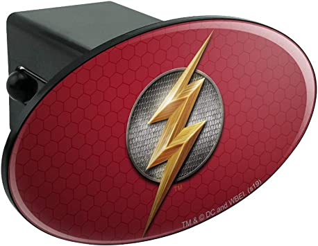 Graphics and More Justice League Movie Superman Logo Tow Trailer Hitch Cover Plug Insert