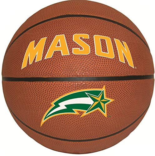 - 9 Inch GMU Basketball Logo Decal George Mason University Patriots Removable Wall Sticker Art NCAA Home Room Decor 8 1/2 by 8 1/2 Inches