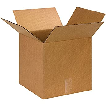 """Cajas rápido bf131313 caja cubo de cartón, 13 """"x 13"""" x 13"""