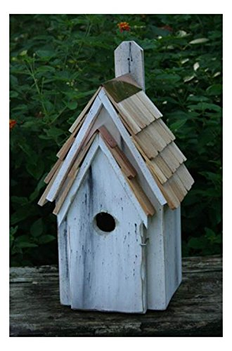 Heartwood Bluebird Manor Bird House in Antique White Finish ()