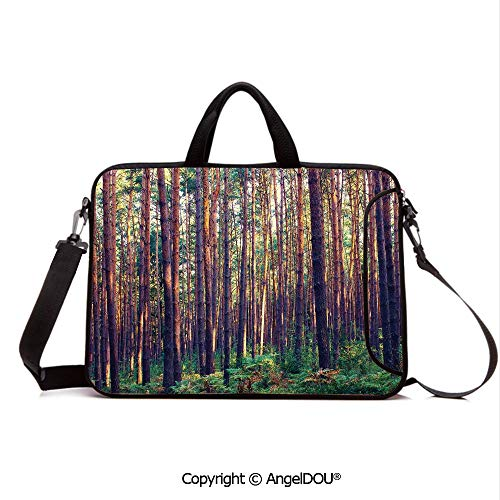 Used, AngelDOU Neoprene Laptop Shoulder Bag Case Sleeve with for sale  Delivered anywhere in USA