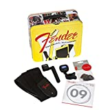 "Fender 0992017001 Essential Electric Guitar Accessories Kit - ""Lunchbox"" Bundle"