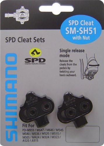 Shimano SM-SH51 Cleats Black