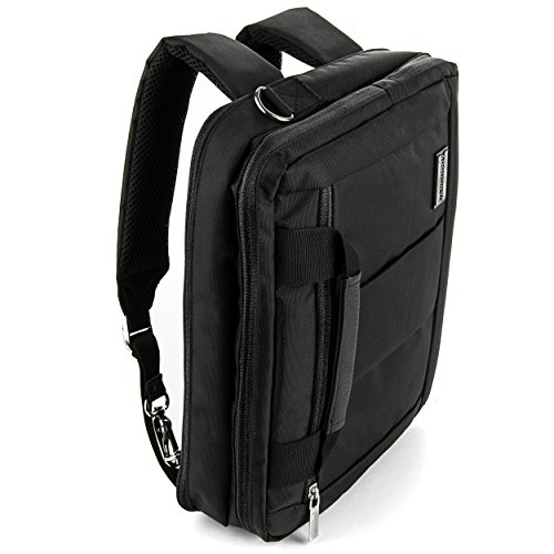 Alyx Backpack Messenger Shoulder Carrying Case for HP 11 inch 14 inch Laptop Ultrabook 2in1 Tablet Computers