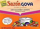 Goya Sazon Goya Cilantro & Annantto, 3.52-Ounce Units (Pack of 6)