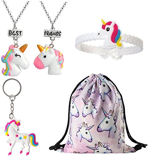 Unicorn Gifts for Girls, Unicorn Goodie Bags, Choice of Colo