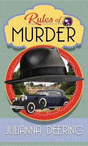Rules Of Murder Drew Farthering Mystery 1 By Julianna Deering