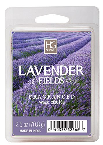 Hosley Lavender Fields Scented Wax Cubes/Melts - 2.5 oz Hand