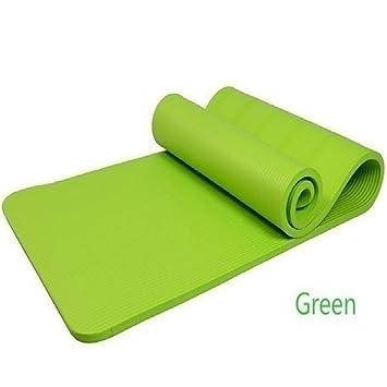 """Esterilla de yoga por miyouda 0,39 """"(10 mm) Extra gruesa"""