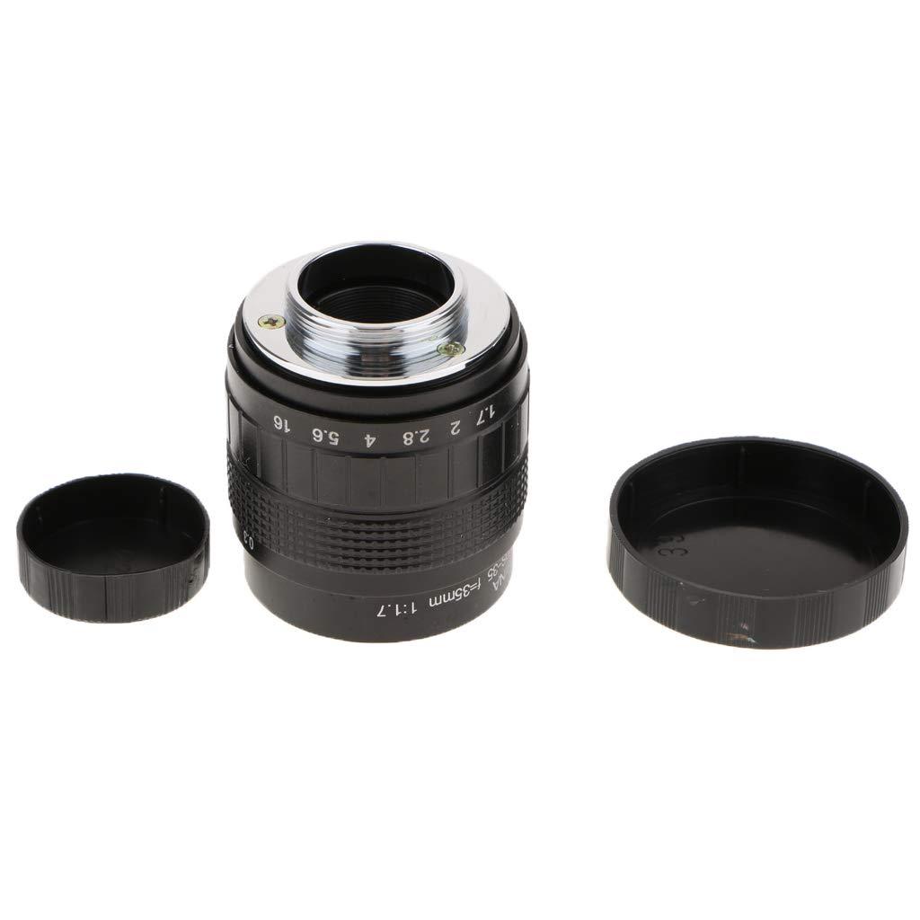 D DOLITY 35 mm F1.7 Objetivo de Gran Apertura para cámara sin ...