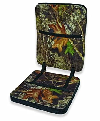 Mossy Oak Foam Cushion with Back (Break-Up, One Size)