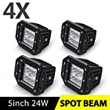 4PCS LED Pods Spot Flush Mount 5