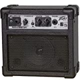 """Seavey Electronics GT- 5 Guitar Amp, 5 watts RMS, 4"""" Peavey speaker,Clean and Overdrive channels, Single tone control, Battery powered and AC adaptable, Headphone jack. by Seavey Electronics"""