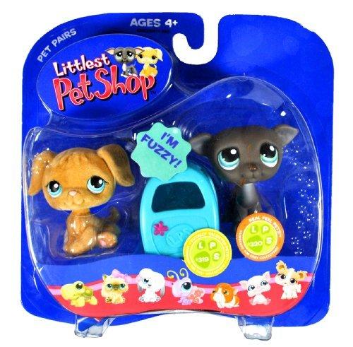 Hasbro Year 2006 Littlest Pet Shop Pet Pairs