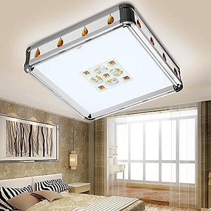 CNMKLM Plaza plaza resaltado LED lámpara de salón lámpara de ...