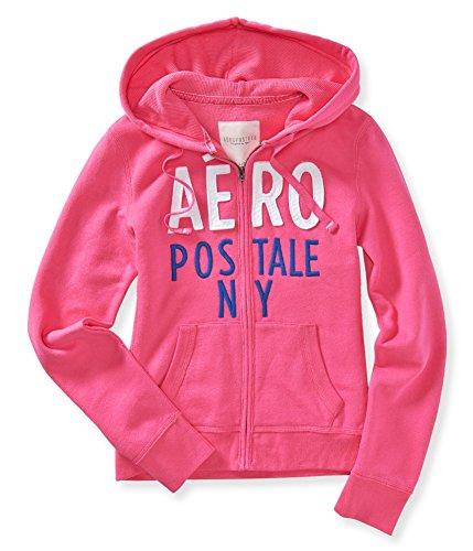 Aeropostale Womens Stacked Hoodie Sweatshirt