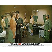 STAND UP VIRGIN SOLDIERS LOBBY CARD NIGEL DEVENPORT ROBIN NEDWELL ASKWITH