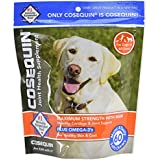 Nutramax COSEQUIN Soft Chews Maximum Strength With MSM Plus Omega3 (60 Count).
