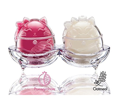 Kitty Ice-Cream Bubble Cleanser (2Set Oatmeal/Pomegranate)