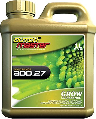 Dutch Master Gold Add .27 Grow, 1 Liter