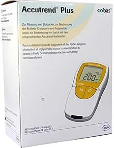Roche Diagnostics Accutrend Plus - Glucómetro (1 unidad)