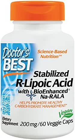 Vitamins & Supplements: Doctor's Best Stabilized R-Lipoic Acid