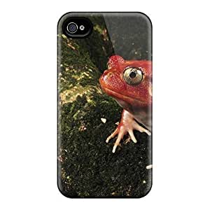 For Ipod Touch 5 Case Cover Eco-friendly Packaging(tomato Frog Conew)
