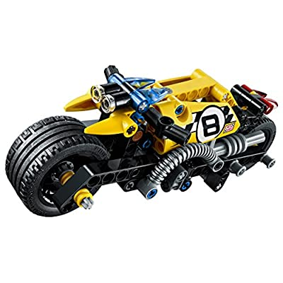 LEGO Technic Stunt Bike 42058 Advanced Vehicle Set: Toys & Games
