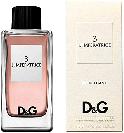 Dolce&Gabbana 3 L'imperatrice Eau De Toilette Spray, Donna, 100 ml